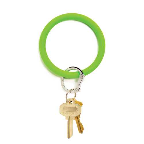 In the Grass Big O Silicone Key Ring