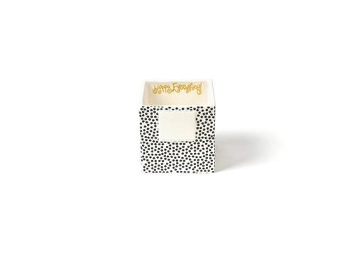 Black Dot Small Nesting Cube