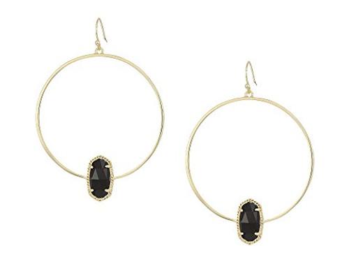 Elora Earring Gold Black