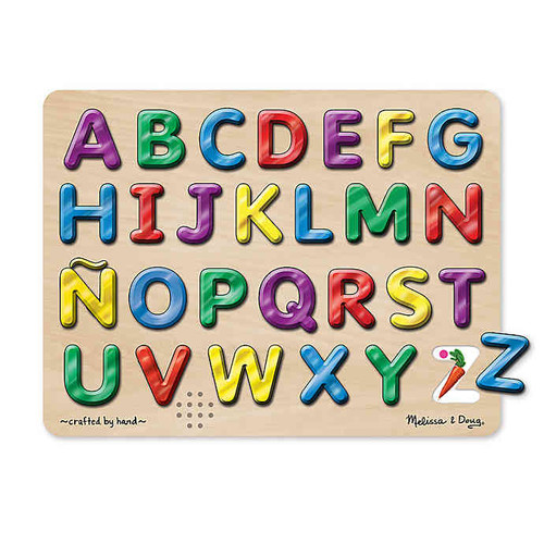 Spanish Alphabet Sound Puzzle