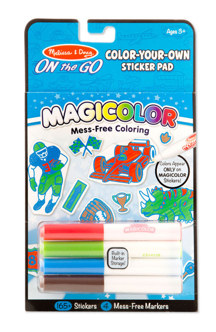 Blue Magicolor Color Your Own
