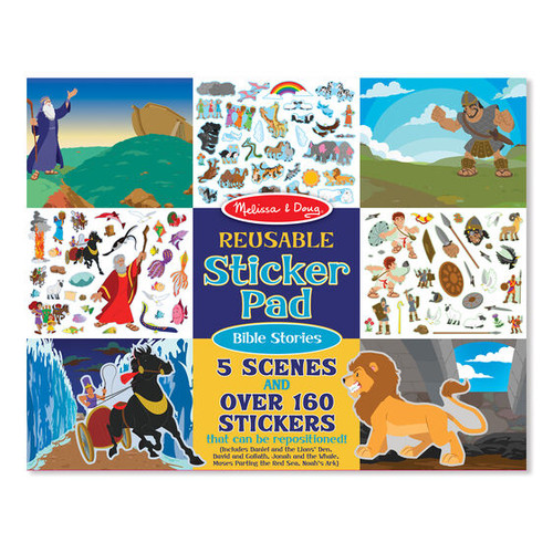Bible Stories Sticker Pad