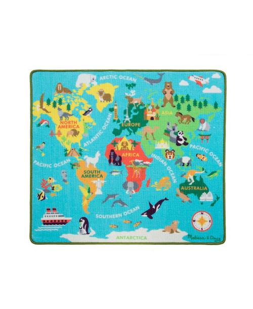 Round The World Travel Rug
