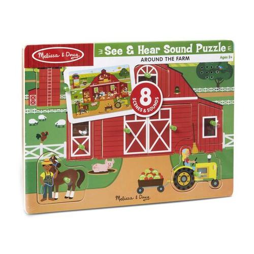 Around The Farm Sound Puzzle