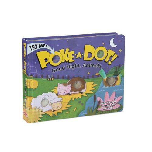 Goodnight Animals Poke a Dot Book