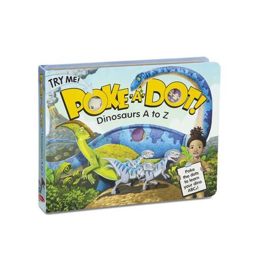 Dinosaurs A to Z Poke a Dot Book