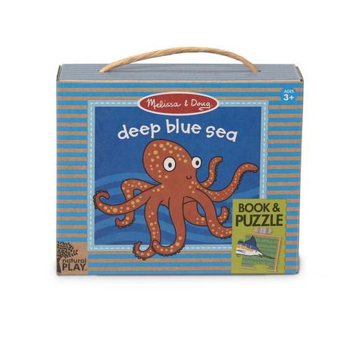 Deep Blue Sea Book Puzzle Set