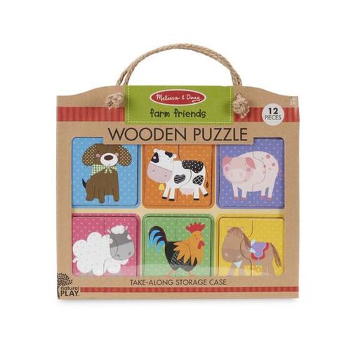 Farm Friends Puzzle Set