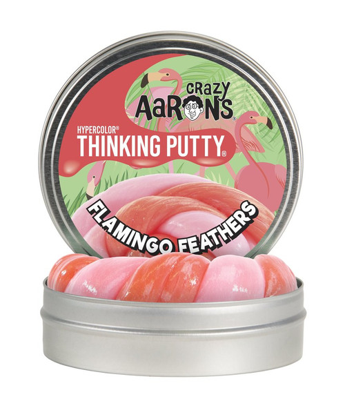 Flamingo Feathers Putty
