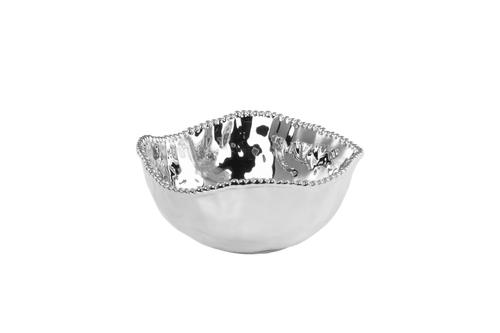 Large Salad Bowl Silver