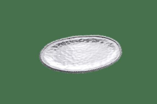 Large Oval Platter Silver