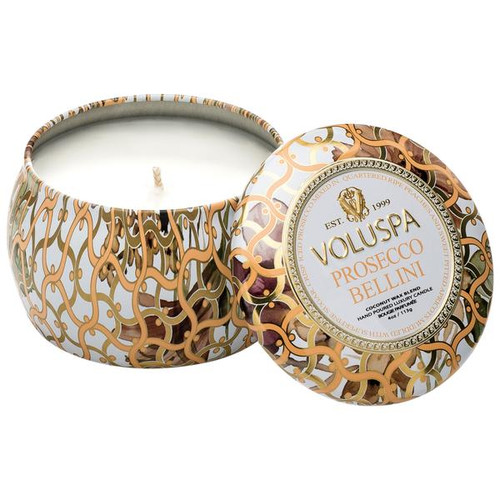 Prosecco Bellini Petite Candle