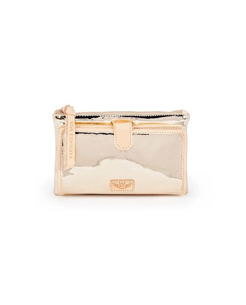 Goldie Gold Slim Wallet