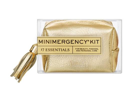 Gold Metallic Tassel Minimergency Kit