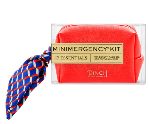 Poppy Vegan Leather Minimergency Kit