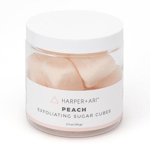 Peach Sugar Cubes Scrub Tub