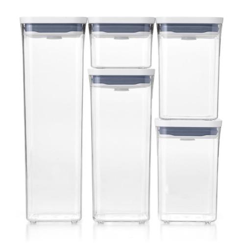 5 Piece Pop Container Set