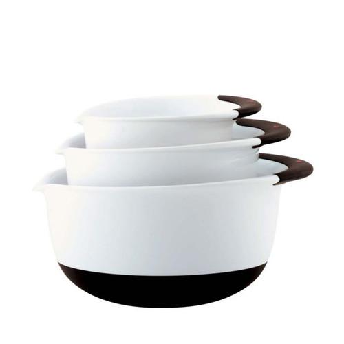 3pc Mixing Bowl Set White