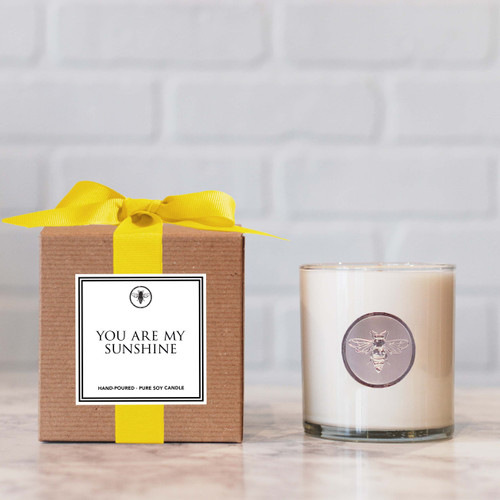 You Are My Sunshine Candle