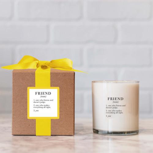 Friend Definition Candle