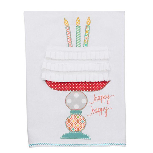 Happy Happy Cake Tea Towel