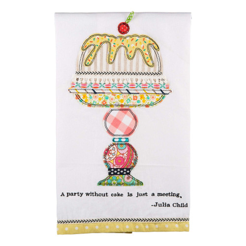A Party Without A Cake Tea Towel