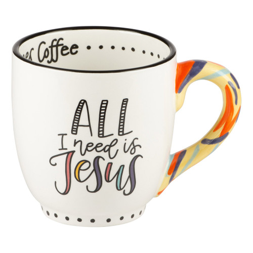 Jesus And Sometimes Mug