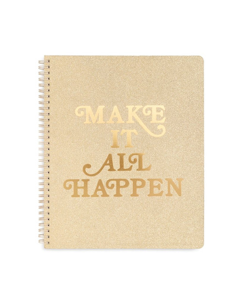 Make It All Happen Large Notebook