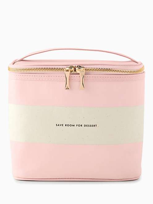 Blush Rugby Lunch Tote