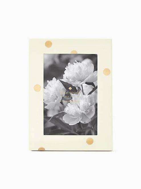 Gold Dot Frame  4x6