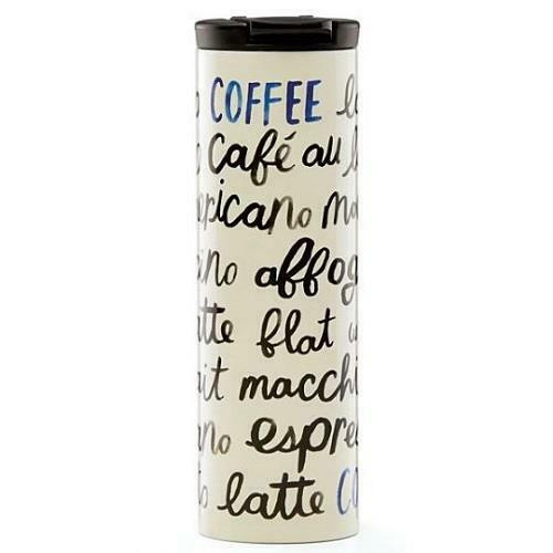 Piping Hot Stainless Steel Tumbler Coffee