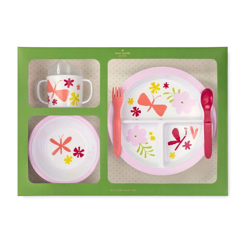 Baby Girl Malamine Set