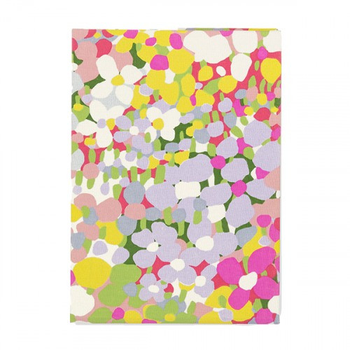 Floral Dot Desktop Notepad