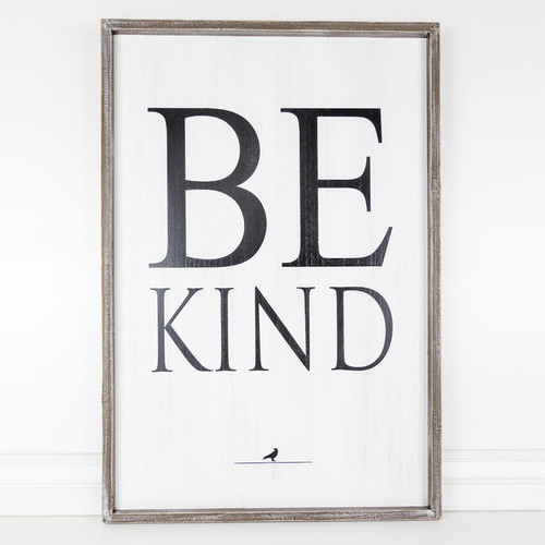 Be Kind Large Sign 24x36