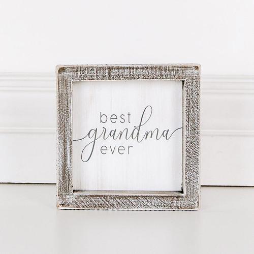 Best Grandma Ever Sign 5x5