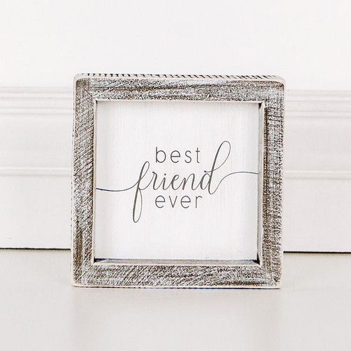 Best Friend Ever Sign 5x5