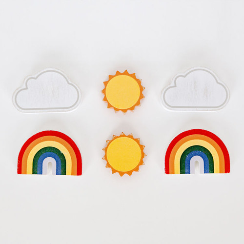 Weather Letter Board Pieces