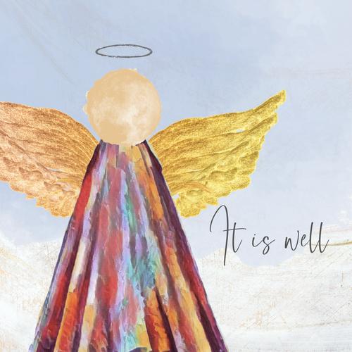 Angel Canvas 12x12