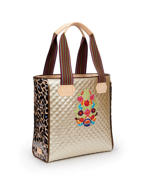 Isabel Champagne Classic Tote