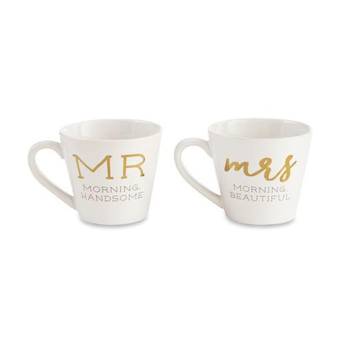 Mr./Mrs. Boxed Mug Set