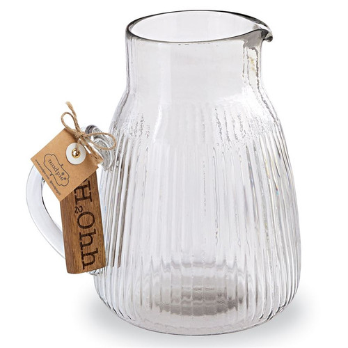 H2O Glass Pitcher
