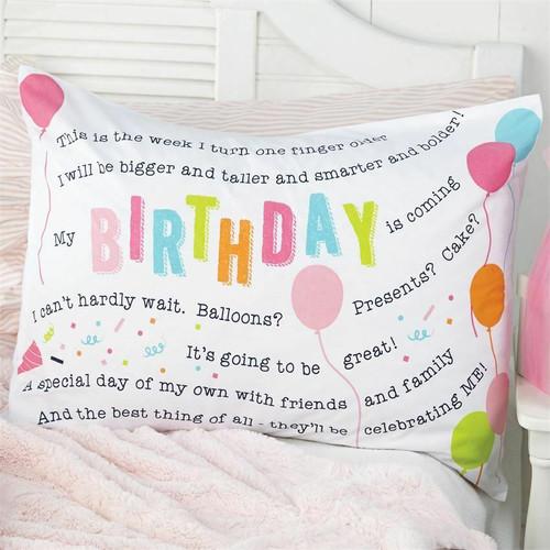 Birthday Girl Pillowcase