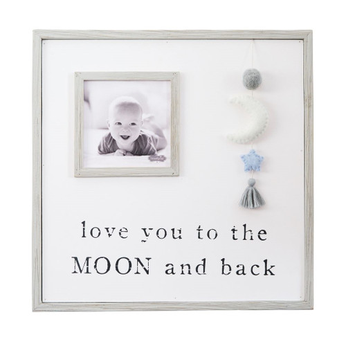 Pom Moon Blue Star Frame