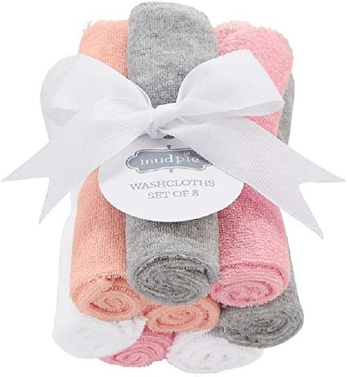 Girl Washcloth Set