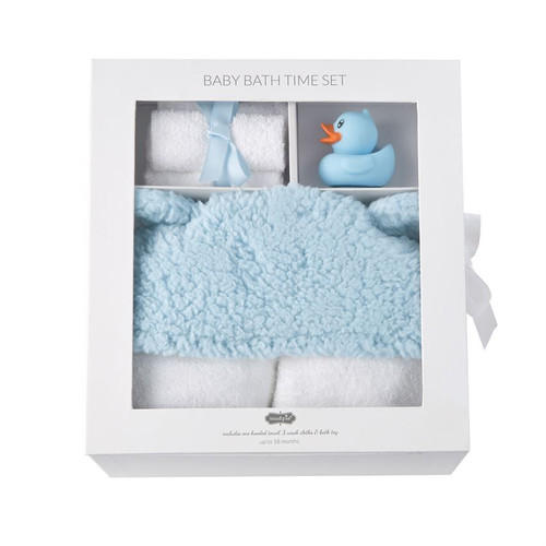 Blue Bath Time Gift Set