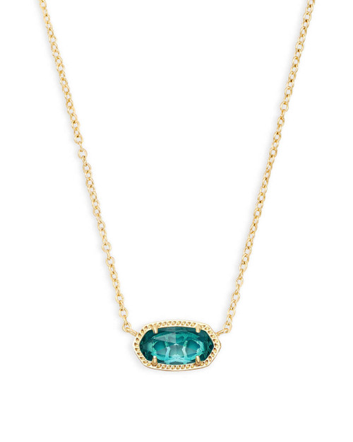 Elisa Necklace London Blue Birthstone December