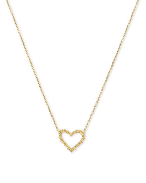 Sophee Heart Gold Necklace