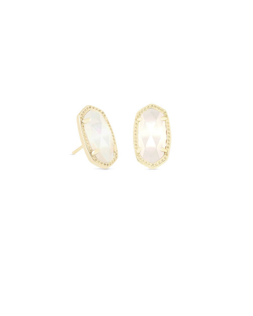 Ellie Earring Ivory Mother of Pearl