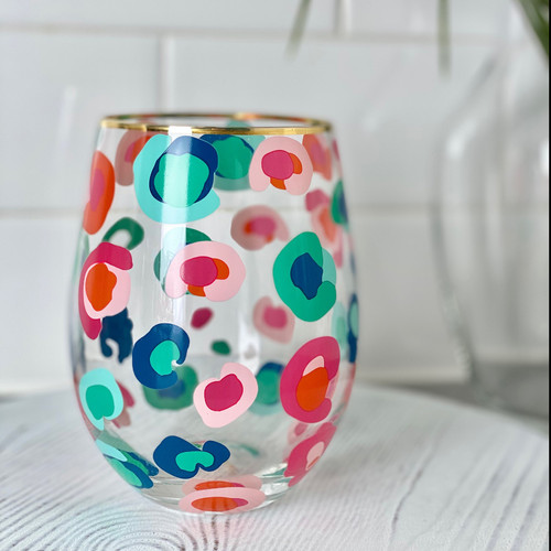 Confetti Catwalk Stemless Wine