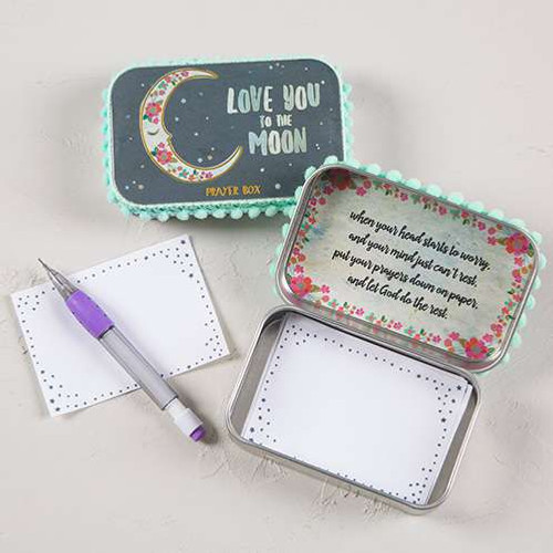 """Love You to the Moon"" Prayer Box"